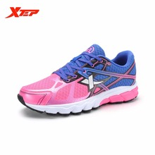 XTEP Brand 2016 Women's Wholesale Running Shoes Ladies Sports Shoes Mesh Sneakers Trainers Outdoor Athletic Shoes 984218119511