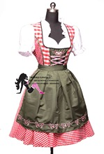 New ! Oktoberfest Beer Festival October Maid Skirt Dress Maid Skirt Apron Costume Girls Women Banquet Activities Fancy Dress