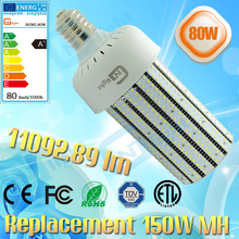 E39 80W led corn lamp 90-270V SMD2835 high bright replace 150W HPS lamp(China)