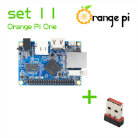Orange Pi One SET 11: Pi One and USB Wifi Card Wireless Card Support Android, Ubuntu, Debian Beyond Raspberry Pi