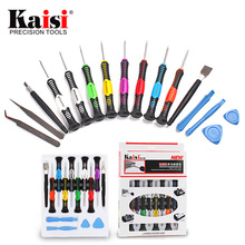 Kaisi Precision 16 in 1 Screwdriver Set Mobile Phone Repair Tool for iPhone / Laptops / Cellphone / PC(China)