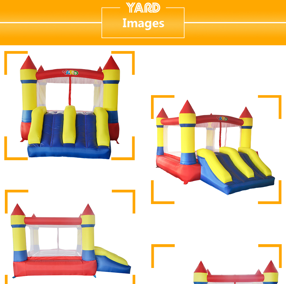 6008 inflatable bounce house castle  (6)