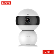 LENOVO Snowman IP Camera WiFi Wireless Mini HD 720P Security Camera Baby Monitor & IR-CUT Surveillance Camera Motion Detection(China)