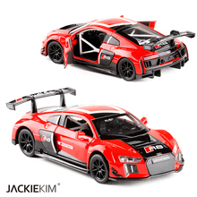 New Alloy Diecast 1:30 Audi R8 Sport track version of DTM Sport Model Collection Toy For Baby Collection Gift Toys Free Shipping(China)