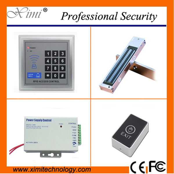 RDID card access control standalone single dooe control lock without software smart EM card reader electric lock door lock<br>