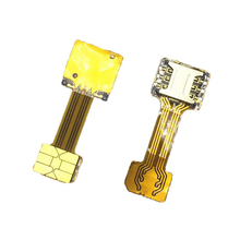 Double Dual SIM Card Adapter for Android extension TWO 2 Nano SIM micro-SD memory Card Converter XIAOMI REDMI NOTE 3 4 3s PRO(China)
