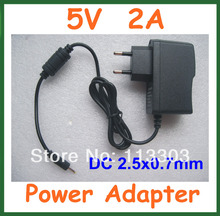 5V 2A DC 2.5mm Charger Power Adapter Supply for Android Tablet PC Q88 Cube U25GT U35GT2 U18GT Yuandao N70 N80RK Pipo S3 Pro(China)