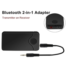 Buy 2in1 Bluetooth transmitter receiver Wireless Adapter HIFI Audio 3.5MM Audio Input Output TV Bluetooth Music sender for $10.84 in AliExpress store