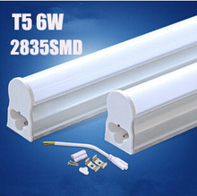 LED T5 Tube 12V/AC85-260V 5W 6W/ 300mm/ Linkable /No Dark Zone /Under Cabinet / Kitchen/ Showcase Lighting Fixture For Home