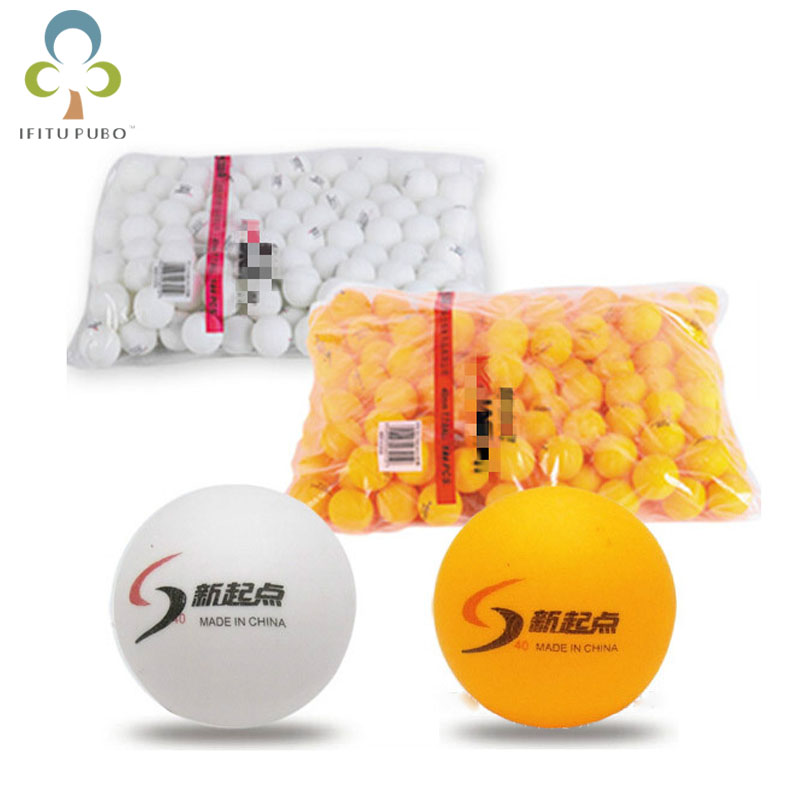 New 10Pcs/lot Tennis Ping Pong Balls 4cm Table Tennis Balls Training balls White and Yellow 2 colors can choose GYH(China (Mainland))