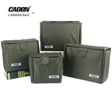 CADeN Camera Portable Insert Bags Digital Video Photo Waterproof Durable Nylon Storage Case Bag for DSLR Nikon Canon Sony(China)