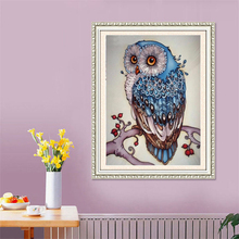 5D DIY New Animals Owl Diamond Embroidery Diamond Painting Cross Stitch Picture Of Rhinestones Full Square Diamond Mosaic Kits(China)