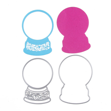 81*117mm Customize Cute Mirror Cutting Dies Metal Embossing Scrapbooking Stencil Craft For DIY Cards Album Photo Decoration(China)
