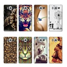 Buy Phone case Microsoft Lumia 950 Phone Case Cute Cartoon High Painted PC Hard Case Skin Back Cover Shell for $1.43 in AliExpress store