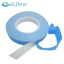5-100mmx25mx0.2mm For Chip PCB LED Heatsink Double Sided Thermal Conductive Adhesive Transfer Tape