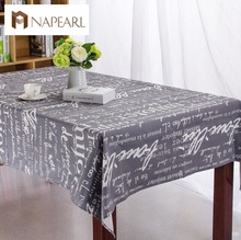 High-grade Tropical table cover tablecloth cotton table cover for table cotton and linen cartoon thicken table cloth