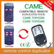 100% copy fixed code Universal RF Remote Control Duplicator for Garage Door (include CAME remotes) CAME TOP432M / CAME TOP434M