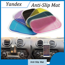 5 PCS Car Accessories Styling Anti-Slip Mat for Mobile Phone mp4 Pad key GPS Anti Slip Car Sticker Anti-Slip Mat Car-Styling(China)