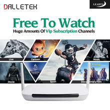 Dalletektv Arabic French Europe IPTV Box Leadtv APK 700 IPTV Channels Italia Spain Germany Tunisia Smart Android TV Set Top Box(China)