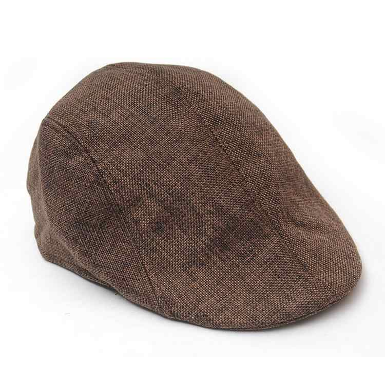 7057887767e 2019 Beret Chrismas Gifts Winter Mens Beret Baker Boy Peaked NewsBoy  Country Hat Beret Men Flat