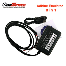 2017 New Arrival ADBLUE Emulator 8 IN 1 V3.0 With NOX Sensor Emulator Support Euro 4/ 6 Adblue emulator For Volvo truck Mercedes