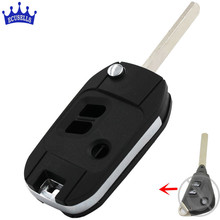 Replacement Shell Modified Folding Remote Key Case Fob 3 Buttons For Subaru Legacy Forester Outback Impreza(China)