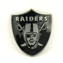 5 pcs wholesale Super Bowl American rugby team Oakland Raiders Belt Buckles Custom metal Buckle for Belt Accessories(China)