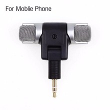 1pc 3.5mm Mini Microphone Stereo Mic For Recording Mobile Phone Studio For Laptop Microphone