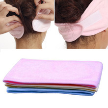 2017 Women Girl Ladys New Spa Bath Shower Make Up Wash Face Cosmetic Headband Hair Band