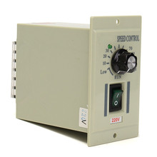 AC 220V 50hz Motor Speed Control Controller For DC 220V 500W Motor Adjustable 100 x 60 x 110mm