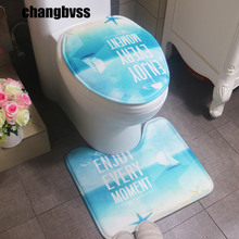 Simple Letter Pattern Bathroom Carpet,2 pcs/set Cheap Toliet Mats Bath Rugs,Non Slip Pedestal Rug Lid Toilet Cover,tapis de bain
