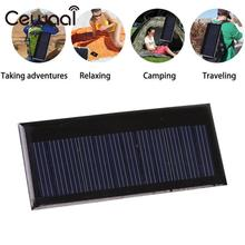 Cewaal Mini Solar System DIY Charging Module Power Bank 0.3W 5.5V polycrystalline silicon Solar Panel For Battery Cell Chargers