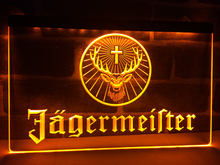 LR061 Jagermeister Deer head LED Neon Sign(China)