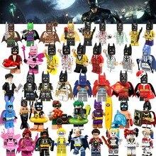Legoing Super Heroes Batman Movie Figures Joker Harley Quinn Robin Superman Batman Building Blocks Legoings Toys for Children(China)