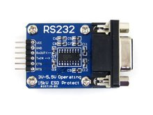 RS232 Board RS232 communication Module SP3232 on board, 3V-5.5V, ESD enhanced, hardware flow control supported