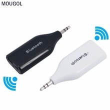 MOUGOL Car Wireless Bluetooth 3.5mm AUX Receiver Adapter For Audio iPad Phone Speaker Audio Stereo Music Receiver