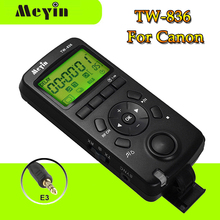 Meyin TW-836/E3 Wireless LCD Timer Remote Control Shoot Shutter Release Cable for Canon EOS Pentax Samsung DSRL Camera(China)