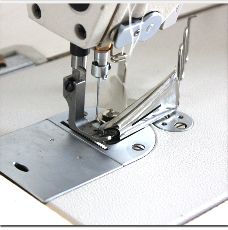 32mm Sewing Machine Double Fold Angle Binder Set Sewing Machine Binder Double Folder Lockstitch Overlock Binding of Curve Edge Folder Sewing Machines Accessories