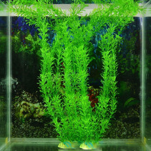 2016 30cm Underwater Artificial Plant Grass for Aquarium Fish Tank Landscape Decor(China)