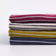 High quality cotton linen blend fabric striped fabric popular in Spring for shirts skirts dress 50*140cm/piece K302692(China)