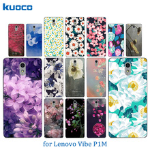 Buy New Lenovo P1M Lenovo Vibe P1M Blossom Pattern Soft Silicon TPU Back Cover Case Lenovo Vibe P1 M a40 Phone Case for $1.46 in AliExpress store