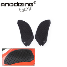 Free Shipping Motorcycle Anti slip Tank Pad 3M Side Gas Knee Grip Traction Pads Protector Stickers For DUCATI 899 1199 1299(China)