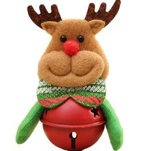 Christmas Home Furnishing Decoration Tree Ornaments Small Bell Holiday Gifts Drop shipping #XG30(China)