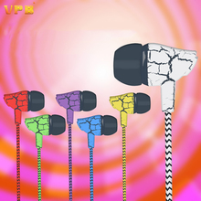 VPB Colorful In Ear Earphone Bass Fashion Music Headset Universal mobile phone Mp3 With Mic NaStyaconv for Smartphone cheapest
