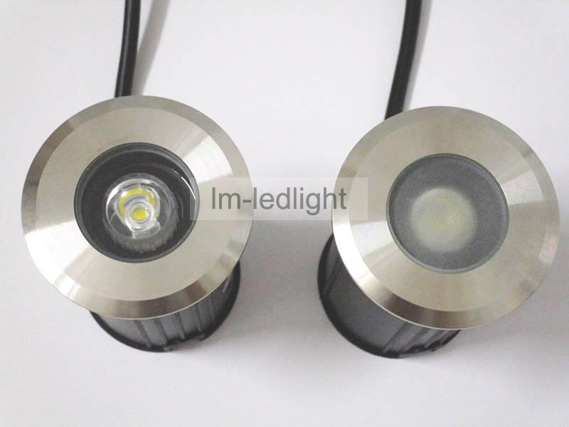 LED deck light dia62mm 85-265V stainless steel underground light warm/netural/cold white recessed led floor light free ship 4pcs