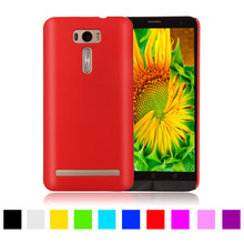 "Matte Rubberized Hard Plastic Case For Asus Zenfone 2 Laser ZE500KL ZE500KG 5.0""Back Cover Mobile Phone Protective Case Cover"