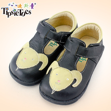 TipsieToes Brand Goat Pattern Casual Sheepskin Leather Kids Children School Sneakers Shoes For Boys New 2017 Autumn Spring 25008(China)