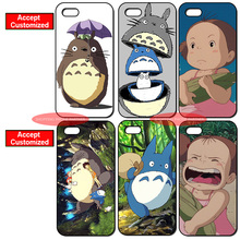 Fashion Totoro Cover Case for iPhone 4 4S 5 5S SE 5C 6 6S 7 8 Plus X iPod Touch 5 LG G2 G3 G4 G5 G6 Sony Xperia Z2 Z3 Z4 Z5(China)