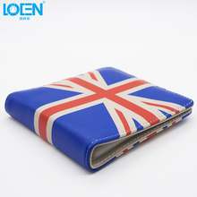 1PCS Fashion British/American Flag Car CD Storage Case 20 PCS CDs DVDs Holder Portable Organizer Auto Accessories