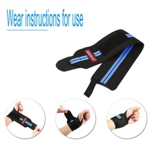 Aolikes Multi-purpose Durable Light Adjustable Flexible Elastic Training Wrist Bandage Winding Strap Sports Wrist Support New